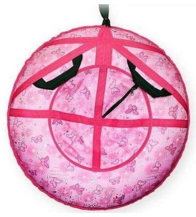Купить Ватрушка-тюбинг Туба-Дуба Т-80 - розовый в интернет магазине игрушек и детских товаров