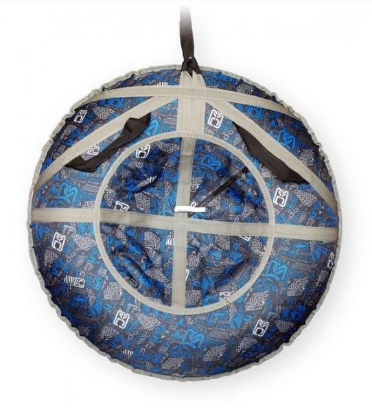 Купить Ватрушка-тюбинг Туба-Дуба Т-88 - синий в интернет магазине игрушек и детских товаров