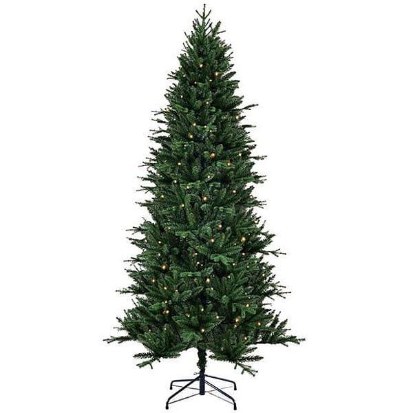 Купить Искусственная елка Black Box Темплтон - 185 см (с вплетеной гирляндой) в интернет магазине игрушек и детских товаров