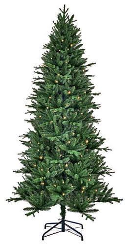 Купить Искусственная елка Black Box Темплтон - 215 см (с вплетеной гирляндой) в интернет магазине игрушек и детских товаров
