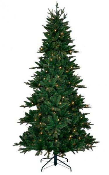 Купить Искусственная елка Black Box Денверская - 230 см (с вплетенной гирляндой) в интернет магазине игрушек и детских товаров