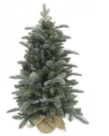 Купить Ель в мешочке Triumph Tree Нормандия голубая - 90 см в интернет магазине игрушек и детских товаров