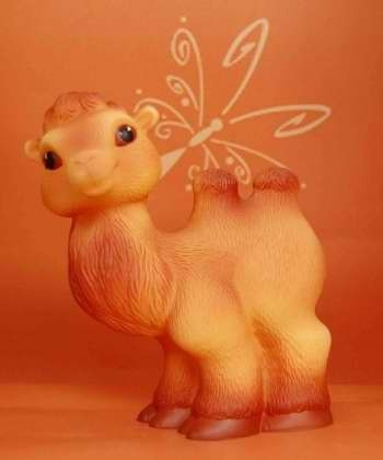 Игрушка для ванной ОГОНЕК Верблюд