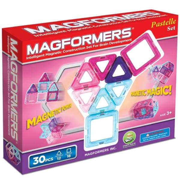 Магнитный конструктор Magformers 704002 (63097)-30 Pastelle