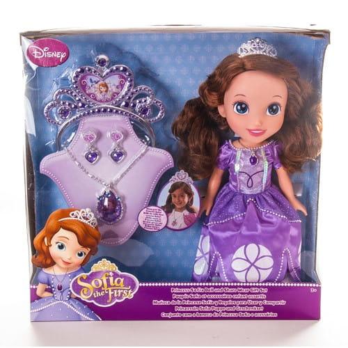 Кукла Disney Princess Принцессы Дисней София - 37 см (с украшениями для девочки)