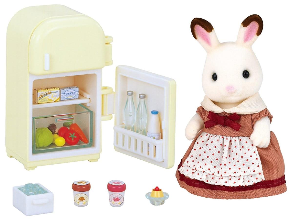 Игровой набор Sylvanian Families 2202 Мама кролик и холодильник