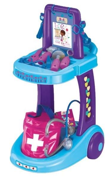 Купить Игровой набор Doctor Plusheva Доктор Плюшева Тележка доктора в интернет магазине игрушек и детских товаров