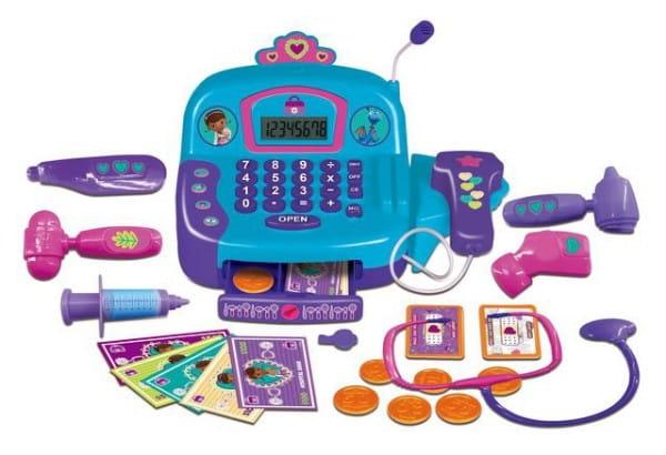 Купить Игровой набор Doctor Plusheva Доктор Плюшева Кассовый аппарат доктора в интернет магазине игрушек и детских товаров