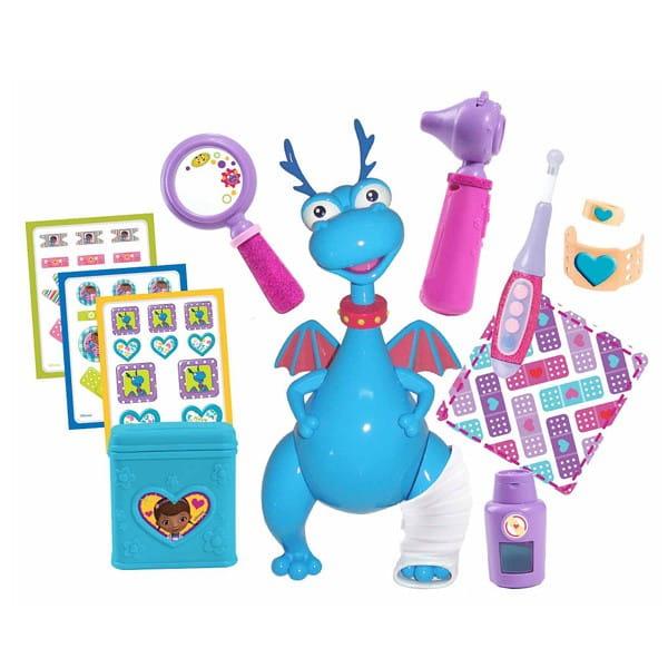 Купить Игровой набор Doctor Plusheva Доктор Плюшева Вылечи меня (с дракончиком Стаффи) в интернет магазине игрушек и детских товаров