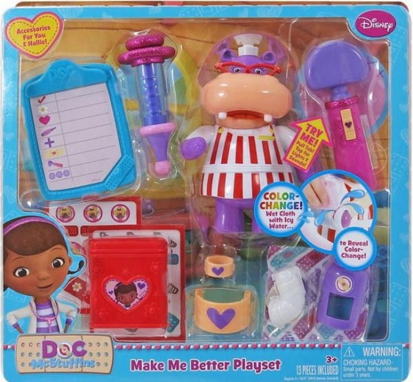 Купить Игровой набор Doctor Plusheva Доктор Плюшева Вылечи меня (с бегемотиком Хэлли) в интернет магазине игрушек и детских товаров