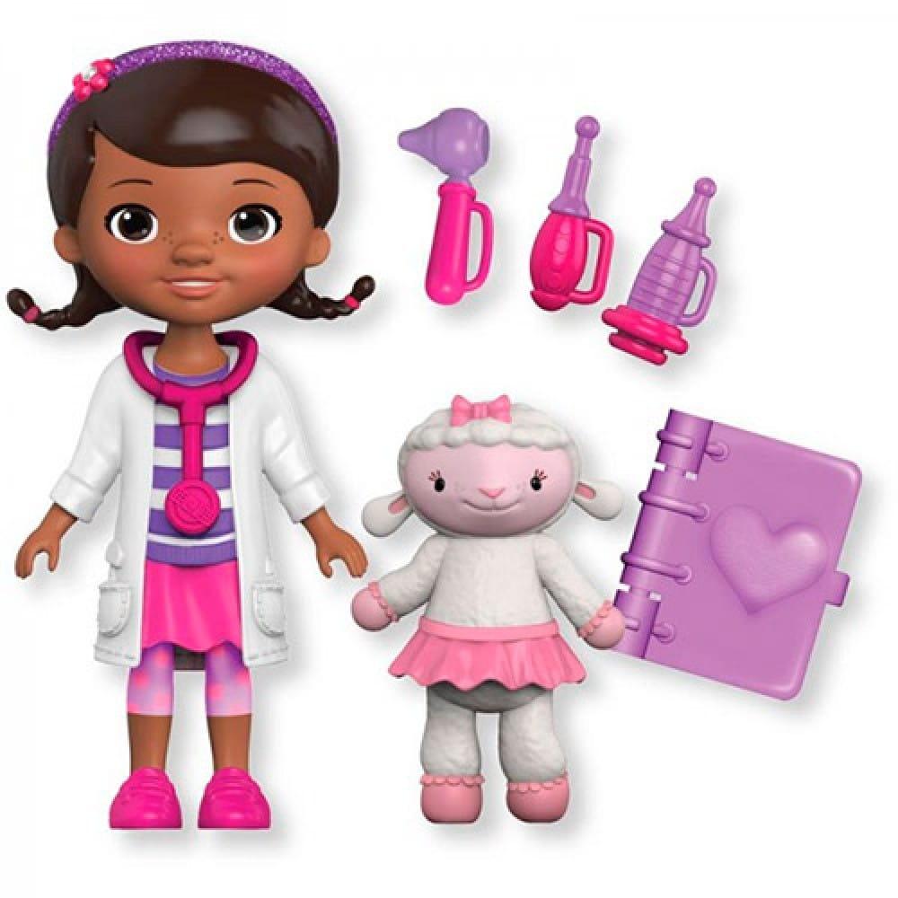 Игровой набор Doctor Plusheva 90805 Доктор Плюшева и ее друзья