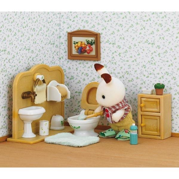 Игровой набор Sylvanian Families Братик Кевин и туалетная комната
