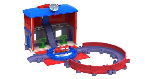 Игровой набор Chuggington Die-Cast Главная станция