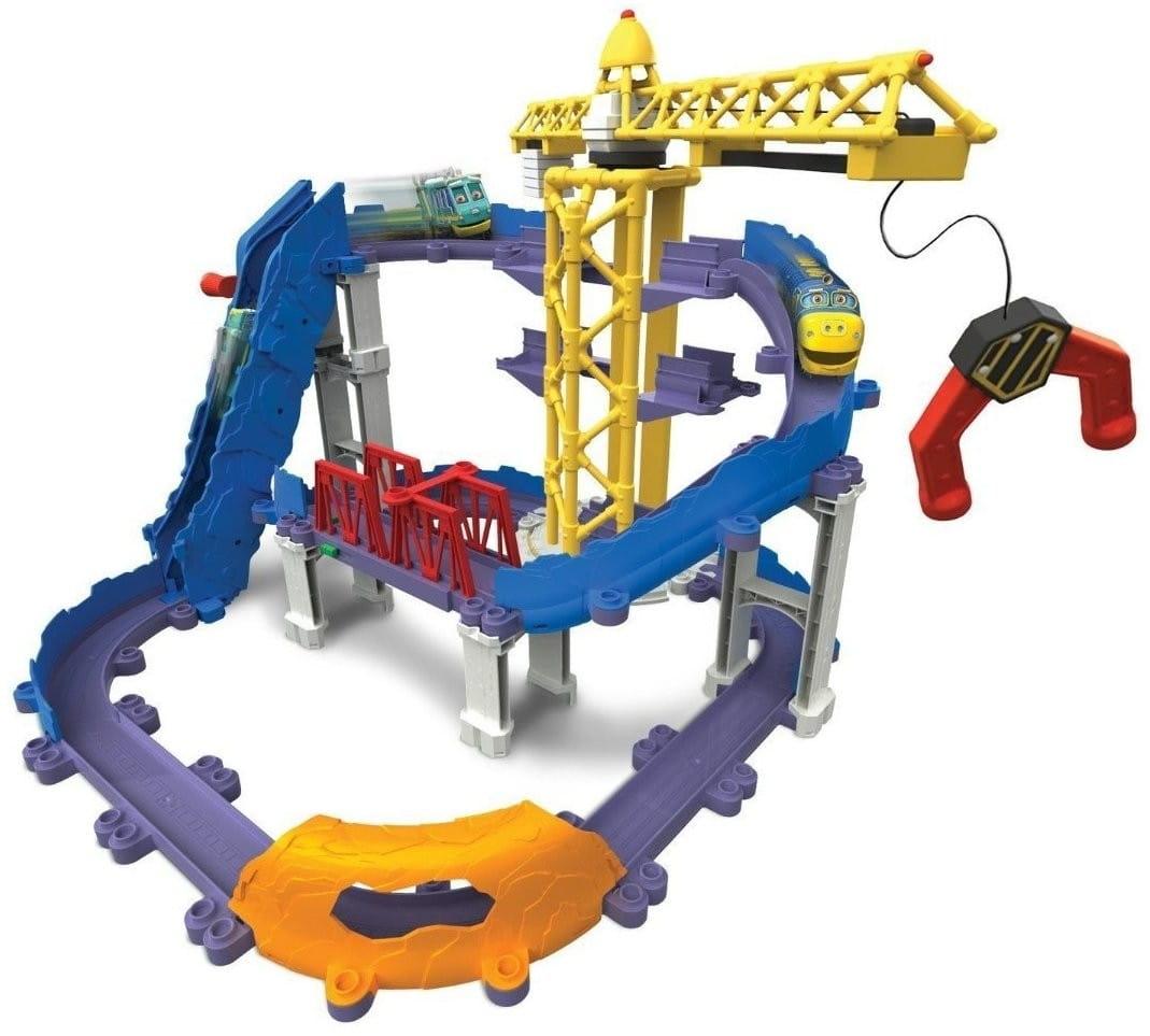 Игровой набор Chuggington LC54241 Die-Cast Большая стройка с Брюстером
