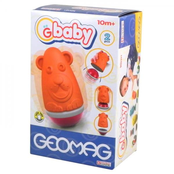 Магнитный конструктор Geomag Baby Неваляшка - медвежонок