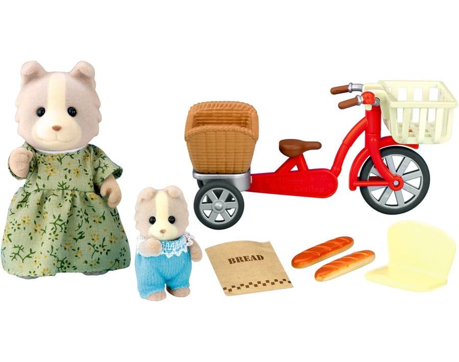 Игровой набор Sylvanian Families Велосипедная прогулка