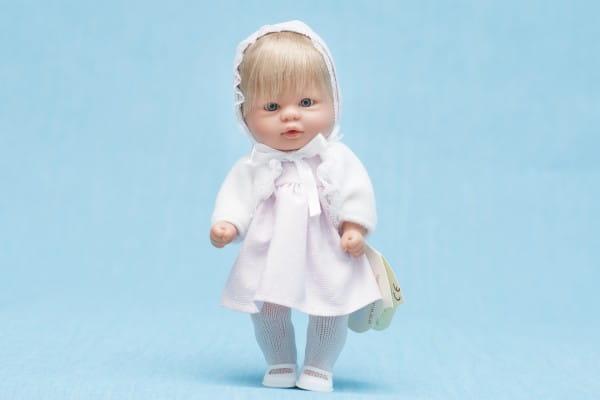 Кукла-пупс Asi - 20 см (в розовом платье с болеро)