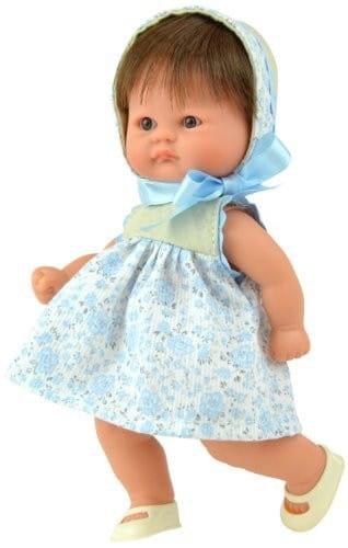 Купить Кукла-пупс Asi - 20 см (в голубом платье) в интернет магазине игрушек и детских товаров