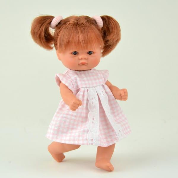 Купить Кукла-пупс Asi - 20 см (в розовом платье) в интернет магазине игрушек и детских товаров