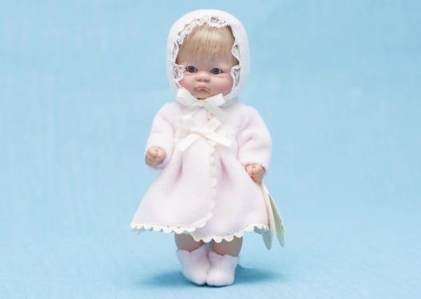 Кукла-пупс Asi - 20 см (в халате и чепчике)