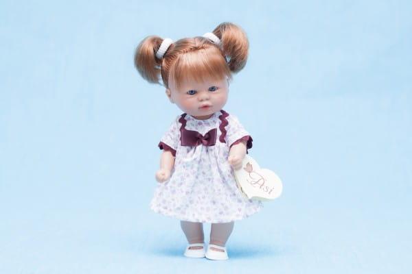 Кукла-пупс Asi - 20 см (в платье с розочками)