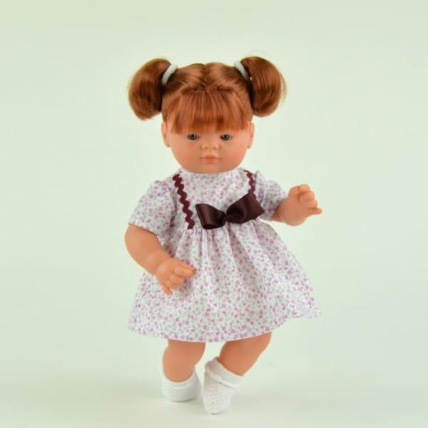 Кукла-пупс Asi Джули - 36 см (с коричневым бантом)