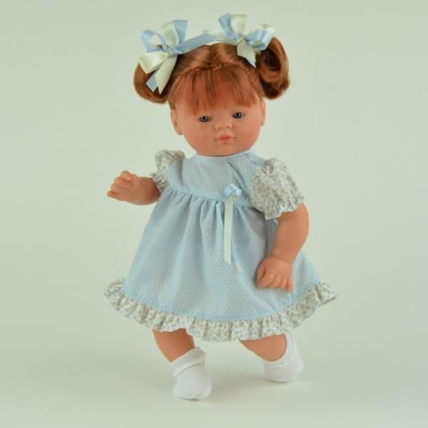 Кукла-пупс Asi Джули - 36 см (в голубом платье)