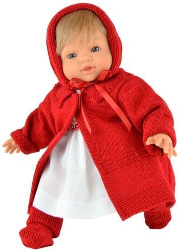 Купить Кукла-пупс Asi Тете - 36 см (в красном пальто) в интернет магазине игрушек и детских товаров