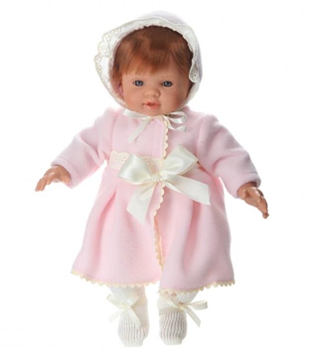 Кукла-пупс ASI Тете - 36 см (в розовом пальто)