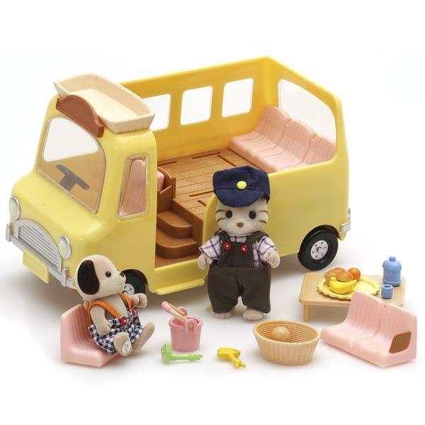 Купить Игровой набор Sylvanian Families Веселая поездка в интернет магазине игрушек и детских товаров