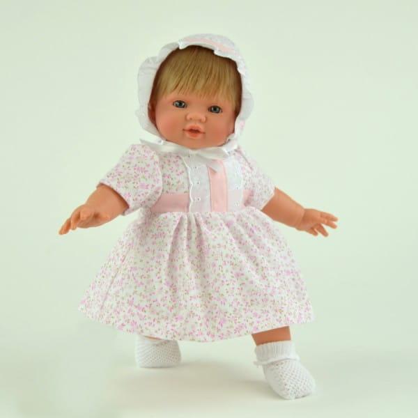 Купить Кукла-пупс Asi Тете - 36 см (в розовом платье) в интернет магазине игрушек и детских товаров