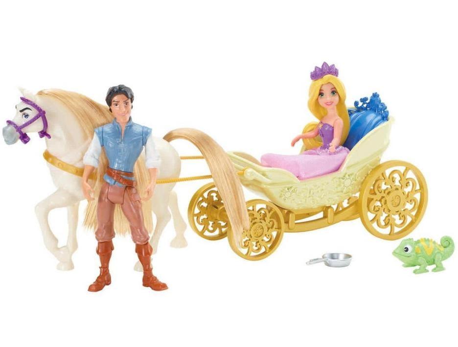 Подарочный игровой набор с мини-куклой Disney Princess X9426 Маленькое королевство Рапунцель (Mattel)