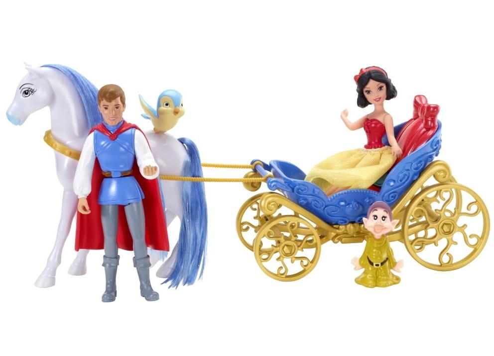 Подарочный игровой набор с мини-куклой Disney Princess X9426 Маленькое королевство Белоснежка(Mattel)