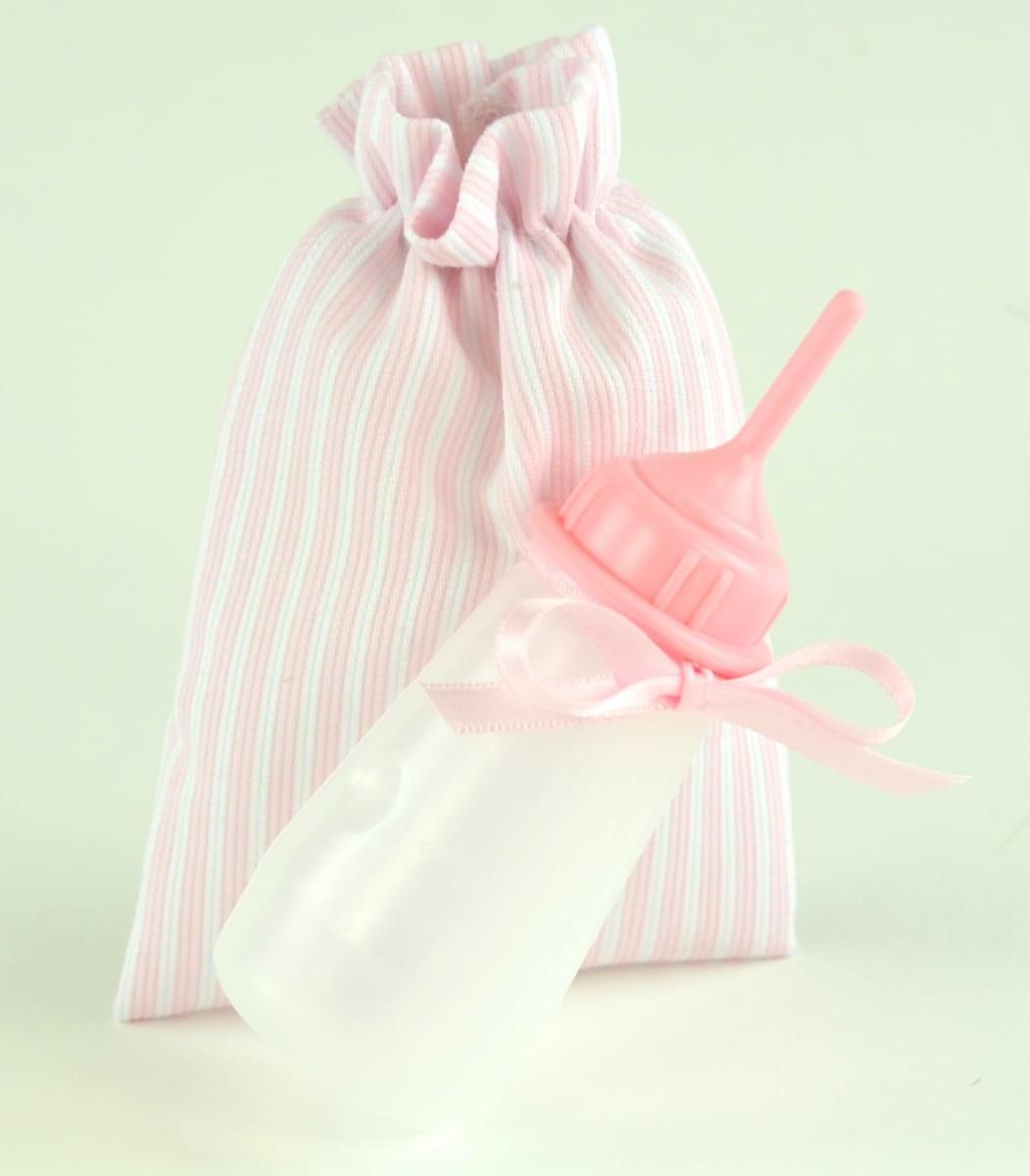 Бутылочка розовая для кукол Asi 0000052