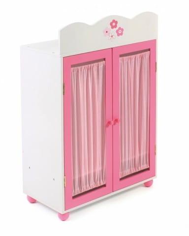 Купить Шкаф для кукольной одежды Chic Buyer 2000 - белый в интернет магазине игрушек и детских товаров
