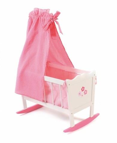 Купить Колыбель для куклы белая Chic Buyer 2000 в интернет магазине игрушек и детских товаров