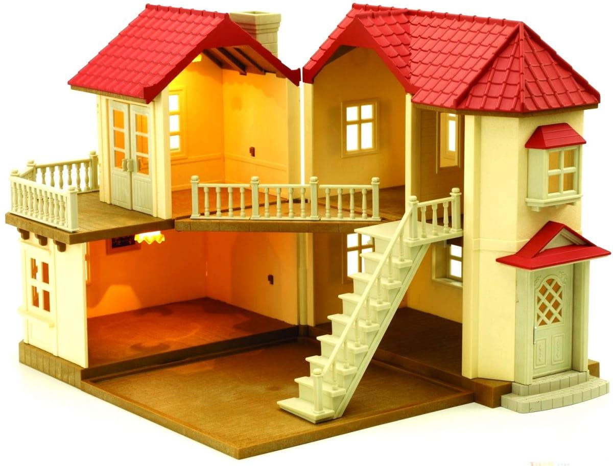 Игровой набор SYLVANIAN FAMILIES Большой дом со светом