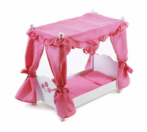 Кровать для куклы с балдахином Chic Buyer 2000