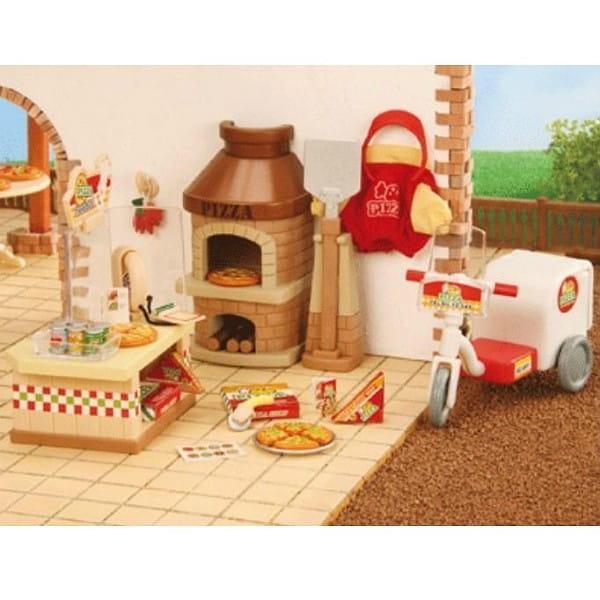 Купить Игровой набор Sylvanian Families Пиццерия в интернет магазине игрушек и детских товаров