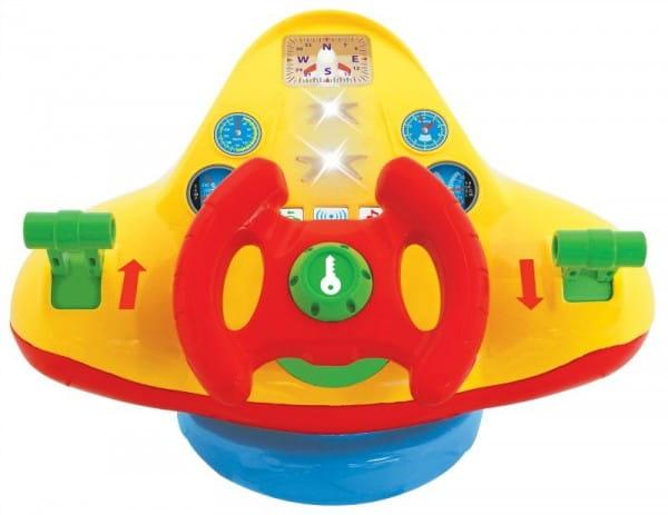 Купить Развивающая игрушка Kiddieland Штурвал самолета в интернет магазине игрушек и детских товаров