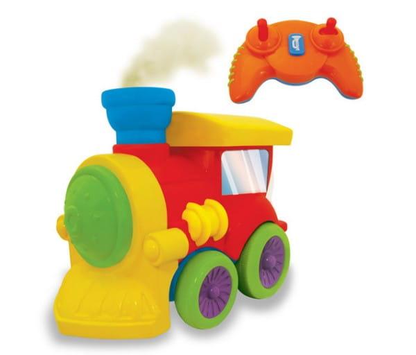 Купить Радиоуправляемый паровозик Kiddieland в интернет магазине игрушек и детских товаров
