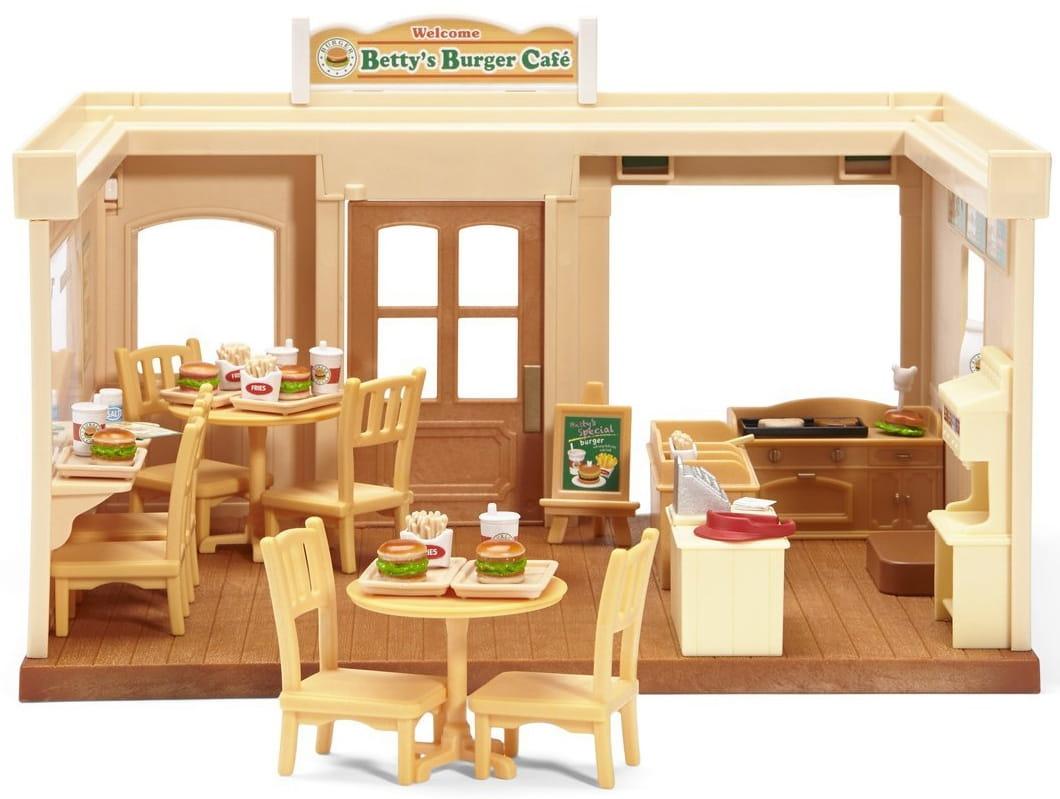 Игровой набор Sylvanian Families 2807 Ресторан Гамбургер