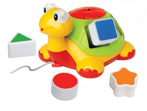 Купить Каталка Kiddieland Черепаха-знайка в интернет магазине игрушек и детских товаров
