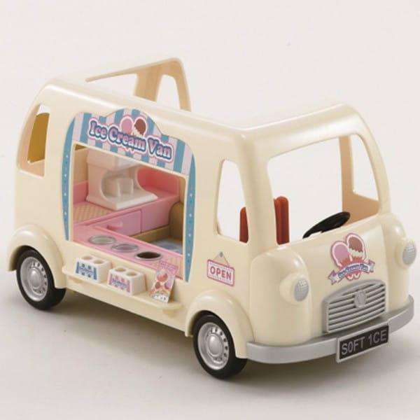 Купить Игровой набор Sylvanian Families Фургон с мороженым в интернет магазине игрушек и детских товаров