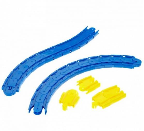 Игровой набор Eichhorn Гибкие радиусные рельсы - 28 деталей