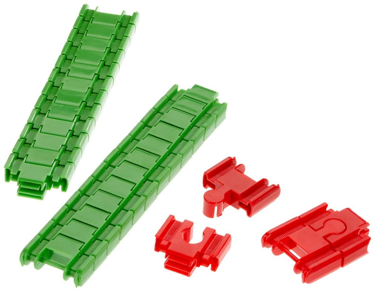 Игровой набор Eichhorn Гибкие рельсы - 28 деталей