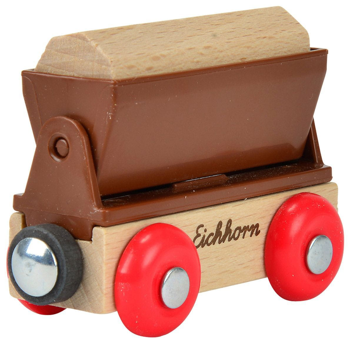 Игровой набор Eichhorn 100001355 Вагон грузовой - 8 см