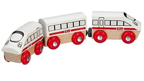 Купить Игровой набор Eichhorn Локомотив с вагоном - 24 см в интернет магазине игрушек и детских товаров