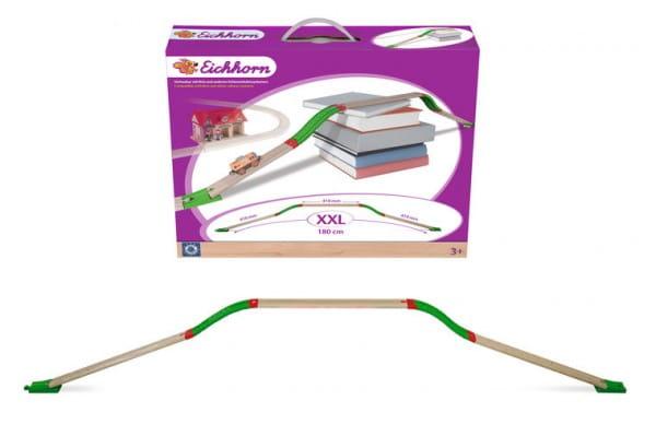 Купить Набор комбинированных рельс Eichhorn - 33 детали в интернет магазине игрушек и детских товаров