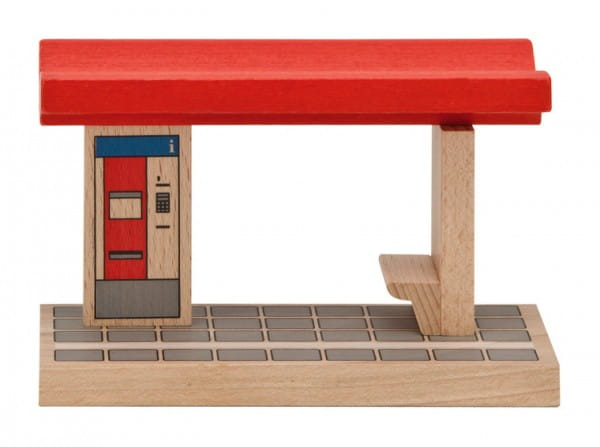 Купить Игровой набор Eichhorn Платформа для железной дороги в интернет магазине игрушек и детских товаров